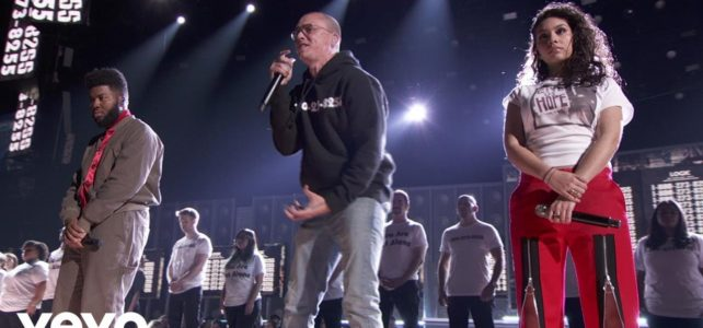 Logic Performing at 2018 Grammy Awards